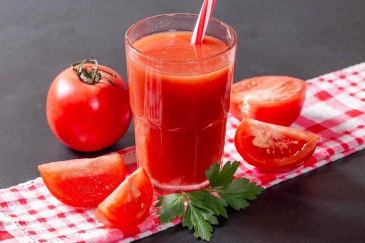 сок из свежих помидоров