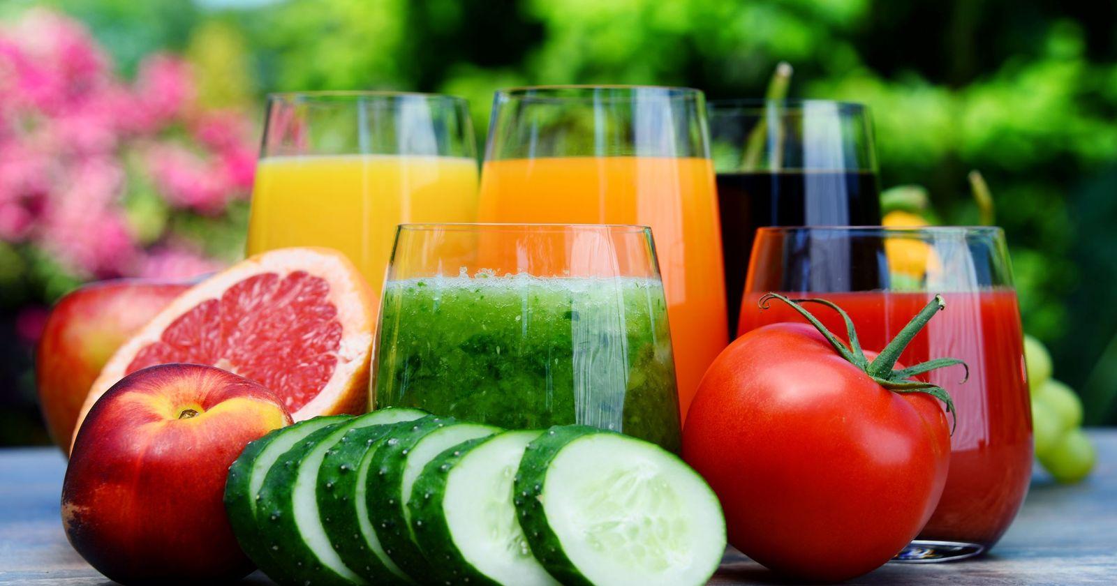 Витамины в соках