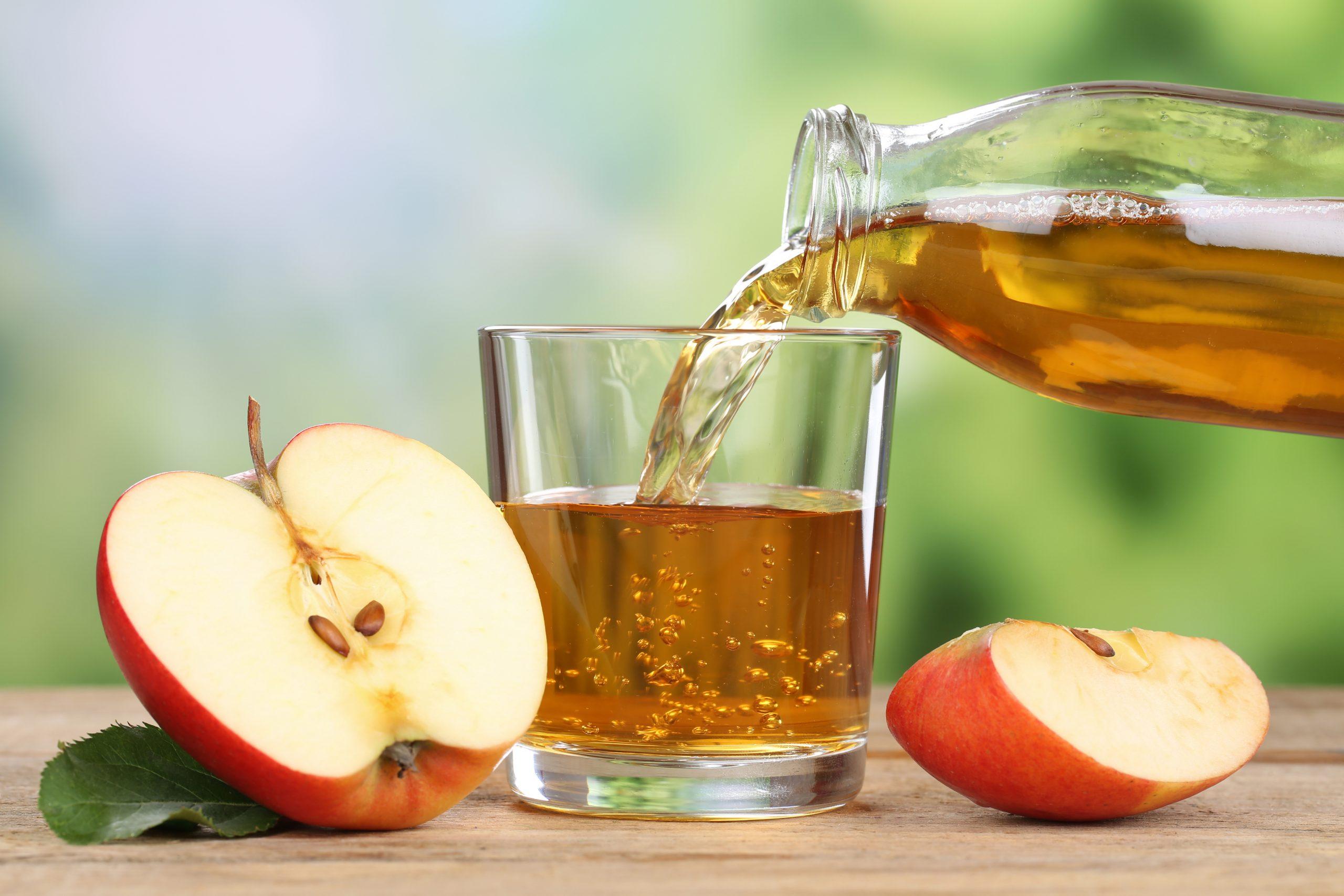 Сок из яблок и его польза