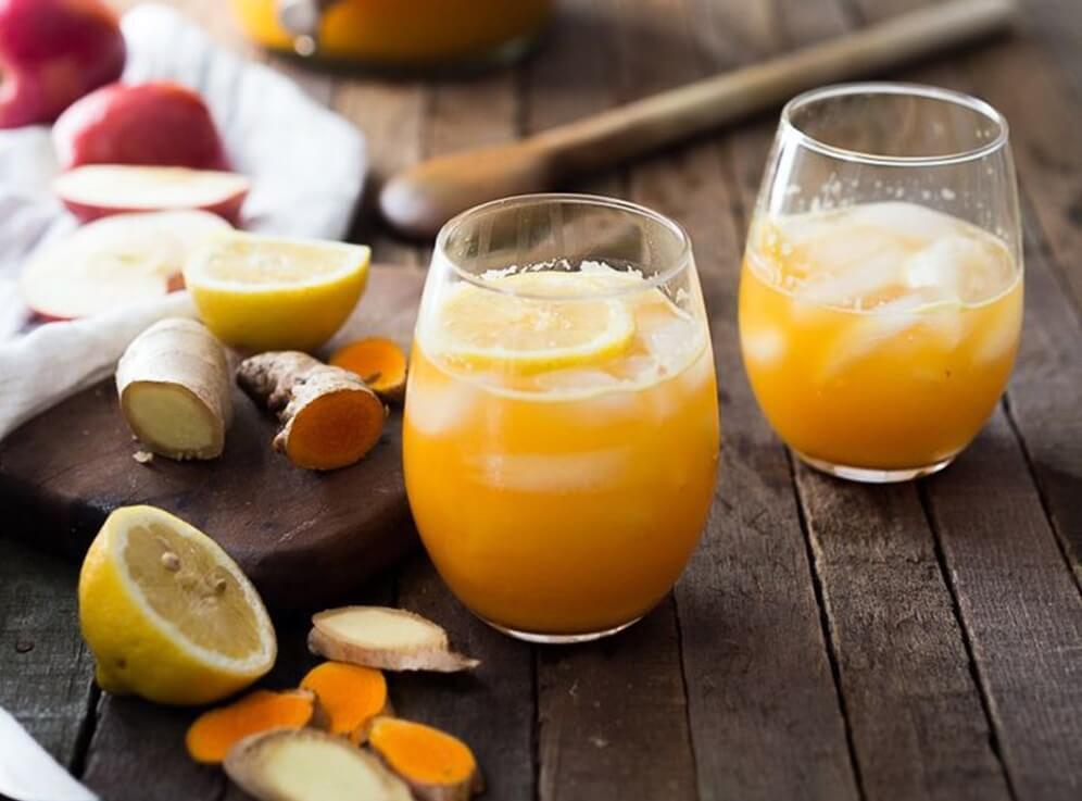 Яблочно-лимонный сок