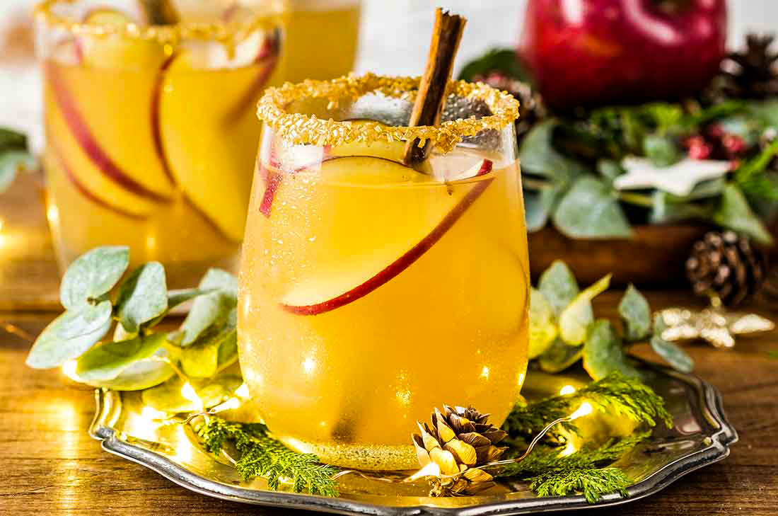 новогодние безалкогольные коктейли