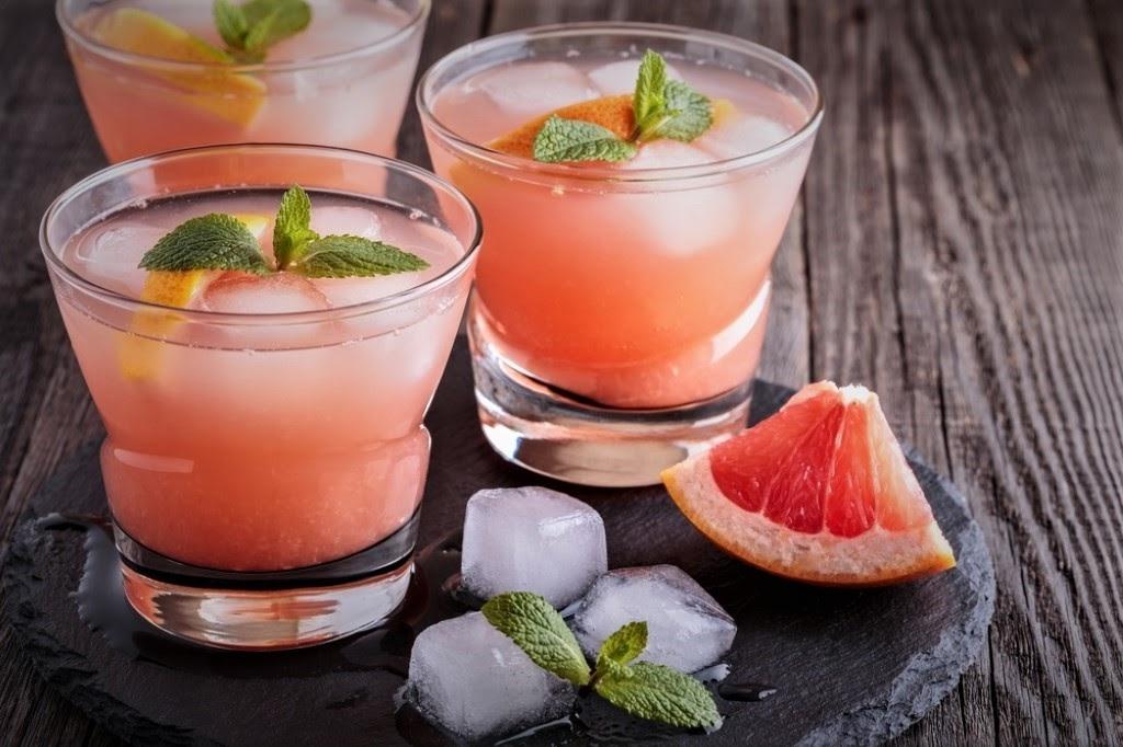 новогодний безалкогольный коктейль