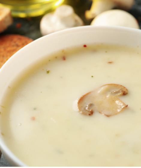 Грибной суп от Hurom